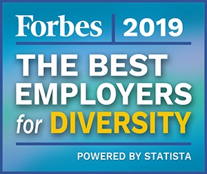2019 Forbes Award: Best Employers for Diversity