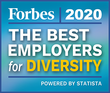 2020 Forbes Award: Best Employers for Diversity
